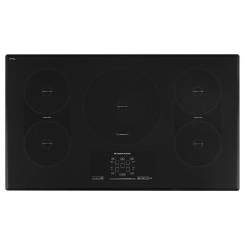 36-Inch 5-Element Induction Cooktop, Architect® Series II Black