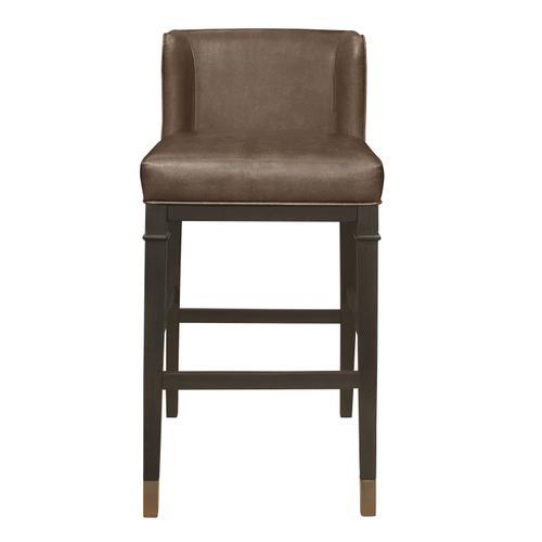 Hillsdale Furniture - Hotchner Wing Back Upholstered Wood Bar Height Stool