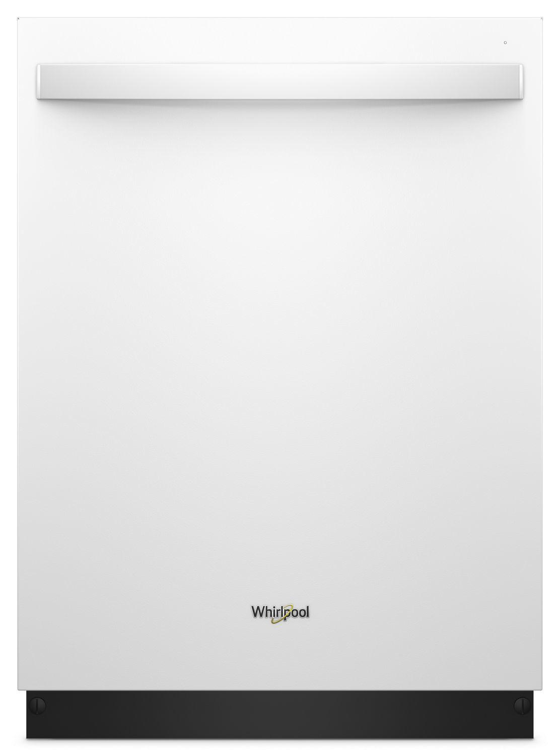 WhirlpoolStainless Steel Tub Dishwasher With Third Level Rack White