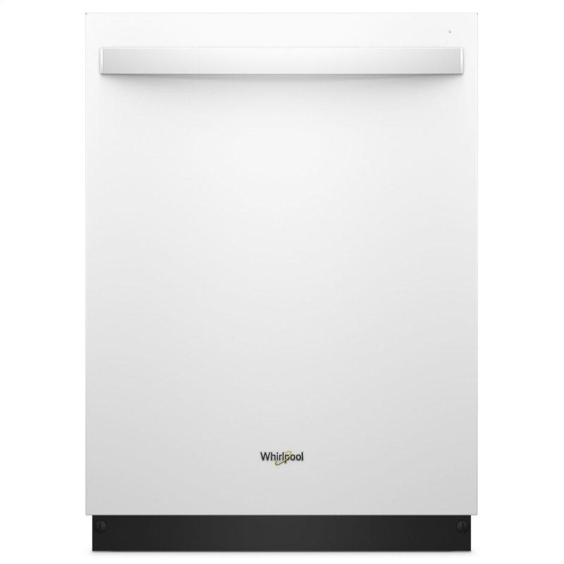 Stainless Steel Tub Dishwasher with Third Level Rack White