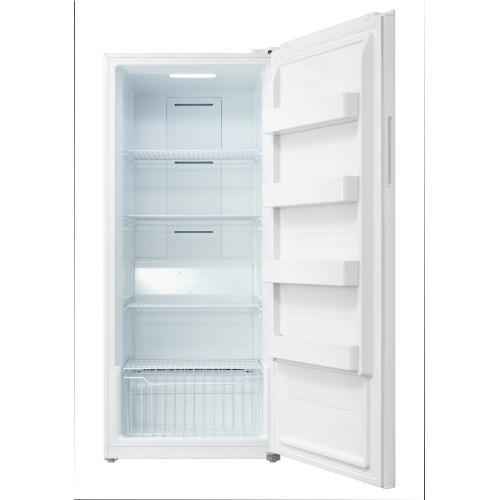 Midea - 21 cu ft Upright Freezer White