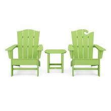 View Product - Wave Collection 3-Piece Set in Vintage Lime