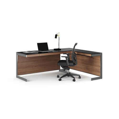 Desk 6001 in Natural Walnut