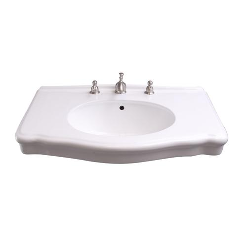 "Anders Wall-Hung Basin - 8"" Widespread"