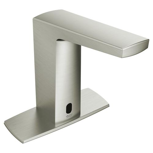 American Standard - Paradigm Selectronic Faucet with Above Deck Mixing - Base Model - 0.35 GPM  American Standard - Brushed Nickel