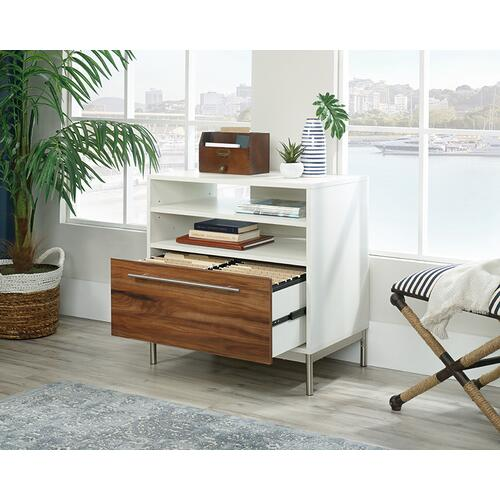 Lateral Office File Cabinet with Open Storage