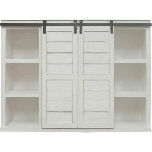 Million Dollar Rustic - Ww/123a Bookcase/china