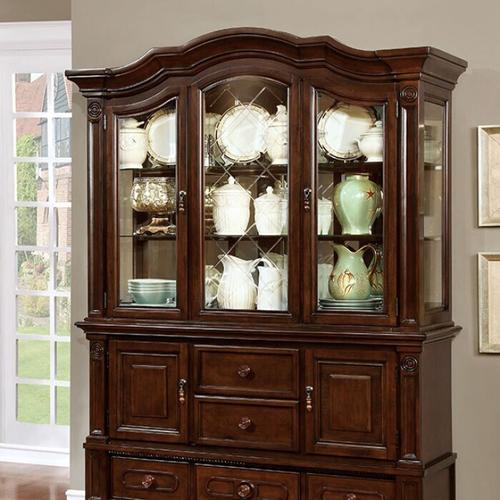 Furniture of America - Alpena Hutch & Buffet