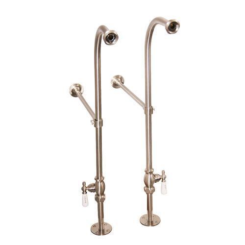 Freestanding Tub Supplies - Brushed Nickel