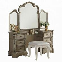 ACME Northville Vanity Desk - 26940 - Antique Silver