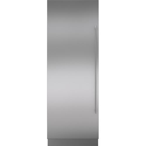 "Sub-Zero - Stainless Steel Door Panel with Tubular Handle and 6"" Toe Kick - LH"