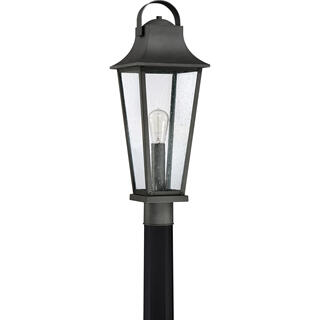 Galveston Outdoor Lantern in Mottled Black