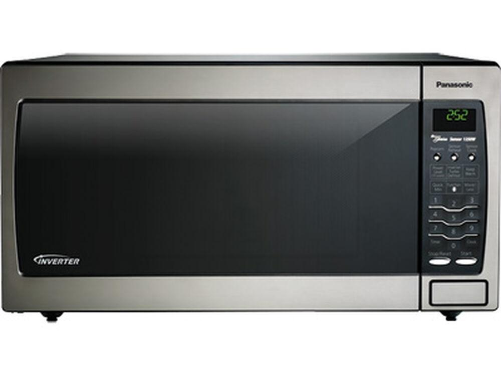 PanasonicFull Size 1.6 Cu. Ft. Genius Countertop/built-In Microwave Oven With Inverter Technology, Stainless Nn-Sn778s
