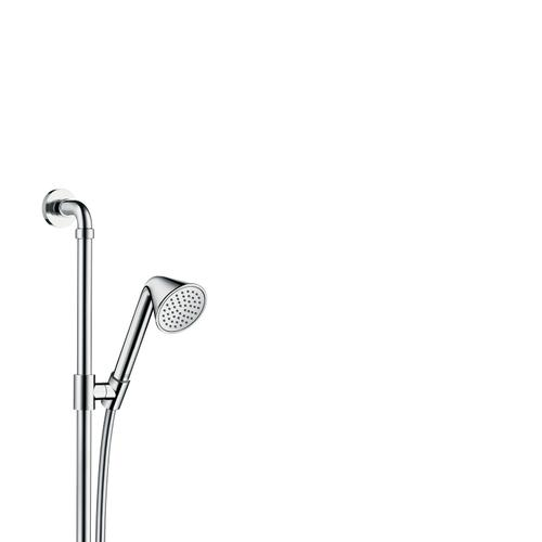 Brushed Black Chrome Shower set 0.90 m with hand shower 85 1jet
