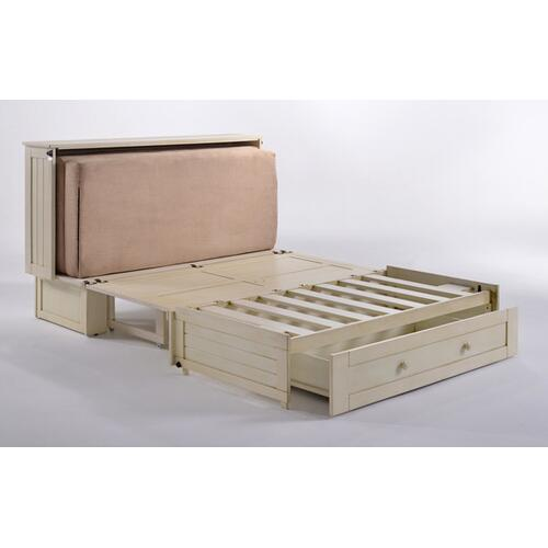 Product Image - Daisy Murphy Cabinet Bed in White Finish