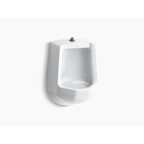 Biscuit Siphon-jet Wall-mount 1 Gpf Urinal With Top Spud