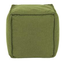 Square Pouf Seascape Moss