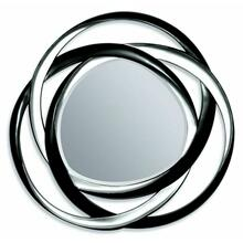 ACME Eva Accent Mirror (Wall) - 97056 - Black & Silver
