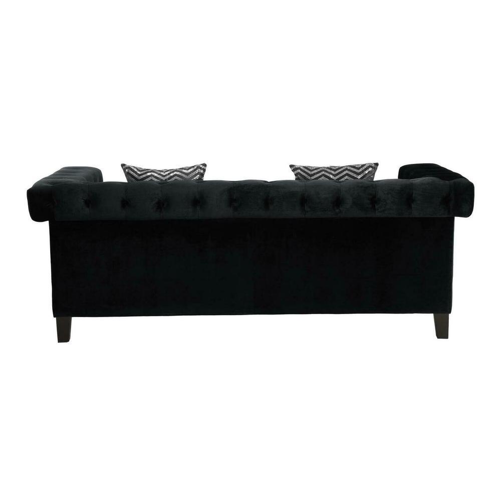 Product Image - Reventlow Formal Black Sofa
