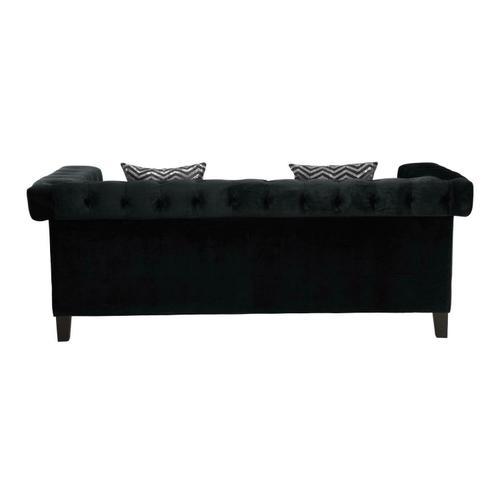 Coaster - Reventlow Formal Black Sofa