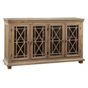 2-7299 Lattice Front Entertainment Console Product Image