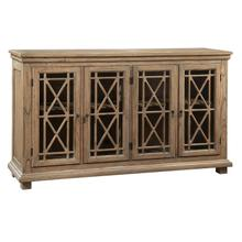 2-7299 Lattice Front Entertainment Console