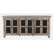 Rustic Shores 2 Door High Cabinet