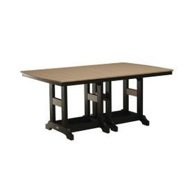 """Garden Classic 44"""" x 72"""" Rectangular Table - Counter"""