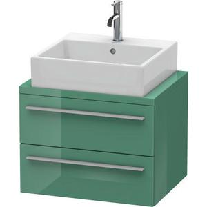 Vanity Unit For Console Compact, Jade High Gloss (lacquer)