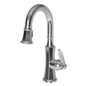Polished Gold - PVD Prep/Bar Pull Down Faucet