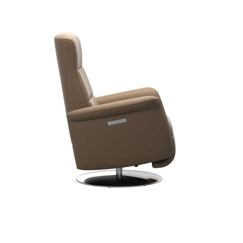 Stressless By Ekornes - Stressless® Mike (M) Power with Moon steel base