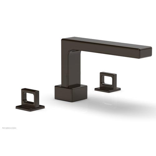 MIX Deck Tub Set - Ring Handles 290-42 - Antique Bronze