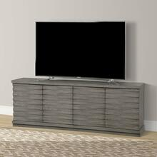 See Details - PURE MODERN 76 in. Angled Door TV Console