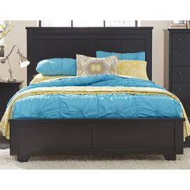 6/6 King Headboard - Black Finish