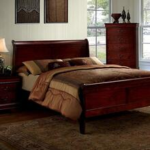 Louis Philippe III Queen Bed
