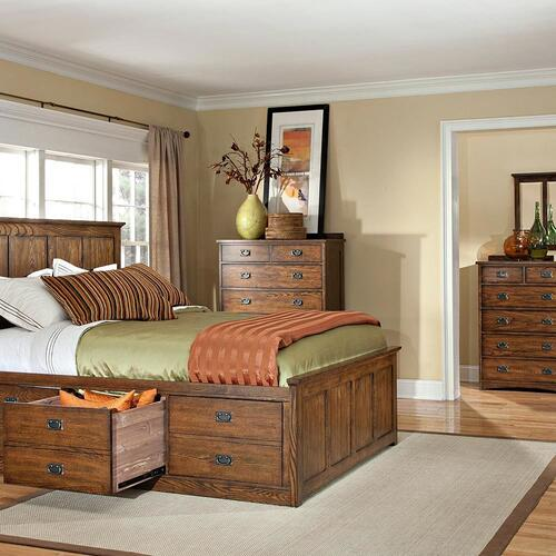 Oak Park Captains Bed