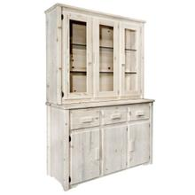 Homestead Collection China Hutch with Sideboard