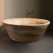 See Details - Siena Tazza Bathtub Silver Travertine