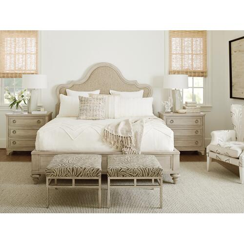 Zuma Upholstered Panel Bed Queen