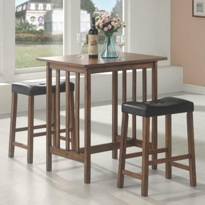 See Details - Casual Brown Three-piece Table Set