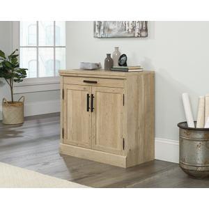 Sauder2-Door Library Cabinet with Prime Oak Finish
