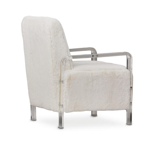 Suave Accent Fur Chair