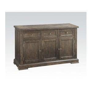 Acme Furniture Inc - Salvage Brown Server