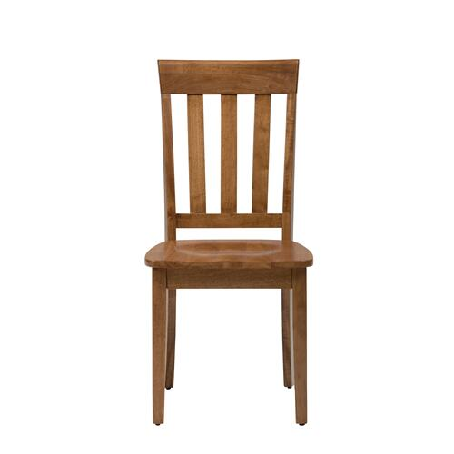 Simplicity Honey Slat Back Chair