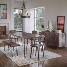 """See Details - Nature's Edge 79"""" Dining Table W/(4) Chairs"""