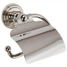 Polished Nickel Hooded Toilet Tissue Holder