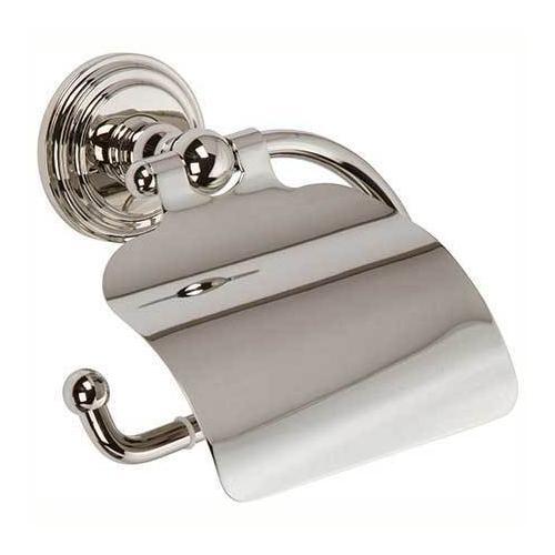 Polished Nickel Hooded Toilet Tissue Holder