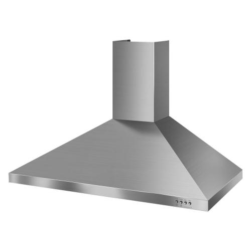 Whirlpool - Gold® 36-inch Vented 300-CFM Wall-Mount Canopy Hood