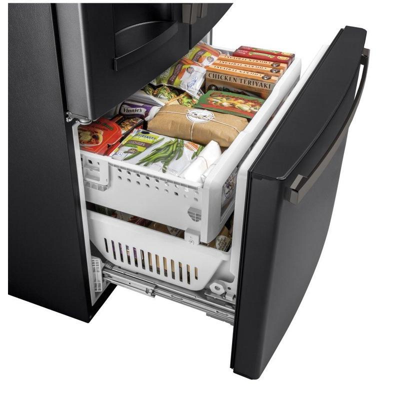 GE® 27.7 Cu. Ft. French-Door Refrigerator with Door In Door