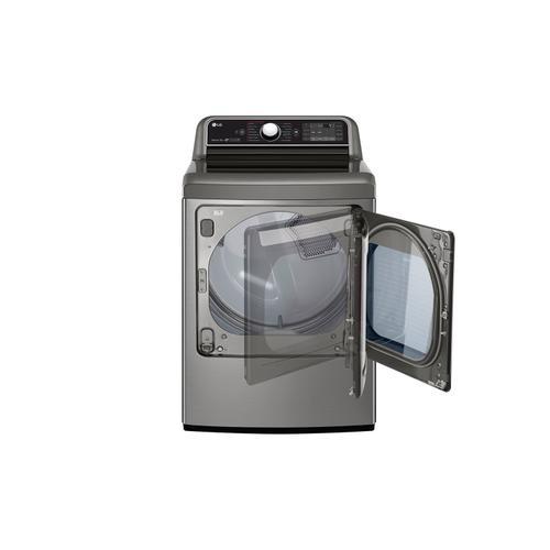 7.3 CU.FT. Turbosteam Dryer With Easyload Dual-opening Door